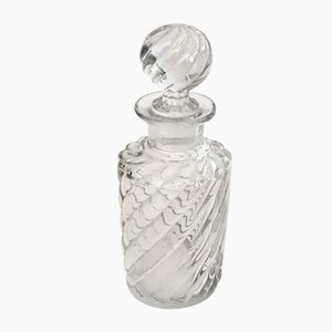 Antique Crystal Swirl Perfume Bottle from Baccarat