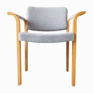 Oak 61 Series Armchair by Rud Thygesen & Johnny Sørensen for Magnus Olesen, 1970s