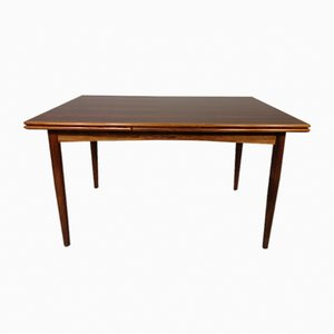 Danish Extendable Rosewood Dining Table, 1960s