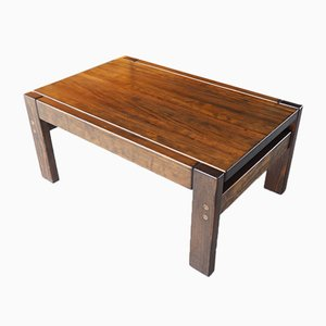 Mid-Century Danish Rosewood Coffee Table by Johannes Andersen for CFC Silkeborg