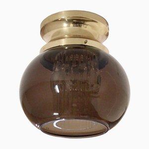Lámpara de techo Mid-Century de montaje de Carl Fagerlund para Orrefors, años 70