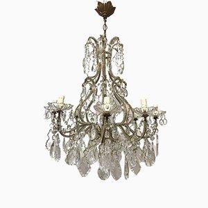 Antique Italian Crystal Chandelier
