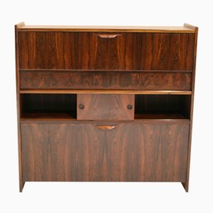 Model SK 661 Mid-Century Brazilian Rosewood Dry Bar by Johannes Andersen for J. Skaaning & Søn