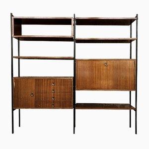 Scandinavian Rosewood Bookcase, 1960s