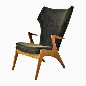 High Back Lounge Chair by Kurt Østervig, 1960s