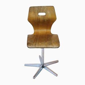 Chaise d'Écolier à Hauteur Ajustable de Embru, 1960s