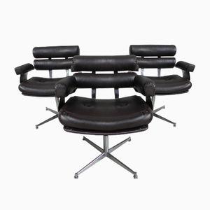 Vintage Hair Salon Chairs, Set of 3