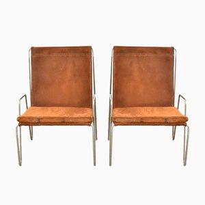 Modell 3351 Bachelor Stühle von Verner Panton für Fritz Hansen, 1950er, 2er Set
