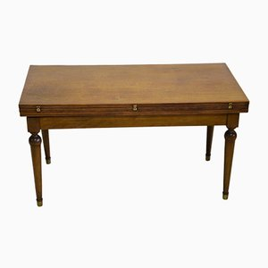 Oak and Beech Expandable Coffee Table, 1950s