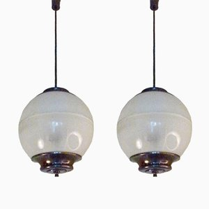 LP8 Suspension Lamp by Ignazio Gardella for Azucena, 1956, Set of 2