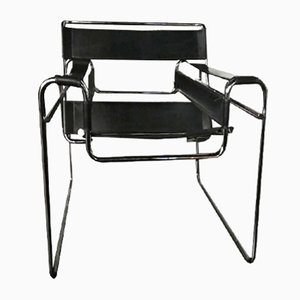 Vintage Wassily Cantilever Chair by Marcel Breuer for Knoll International, 1960s