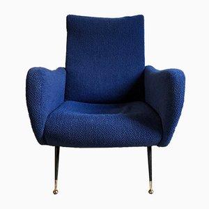 Mid-Century Italian Lounge Chair, 1950s