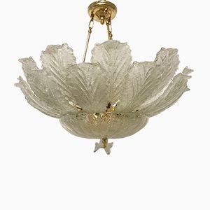 Lámpara de araña de montaje de cristal de Murano