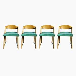 Chaises de Salon Scandinaves Vintage, 1960s, Set de 4