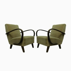Lounge Chairs by Jindřich Halabala, 1930s, Set of 2