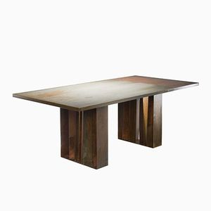 Tavolo da pranzo Terrae dalla collezione Earthlands di Angela Ardisson per Artplayfactory