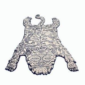 Tapis Tiger par Dylan Martorell pour Moustache, 2018
