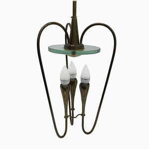 Italian Ceiling Lamp by Pietro Chiesa for Fontana Arte, 1936
