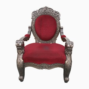 Vintage Indian Armchair