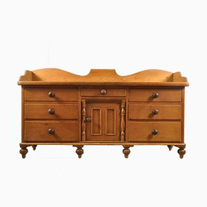 Antique Farmhouse Sideboard, 1890s