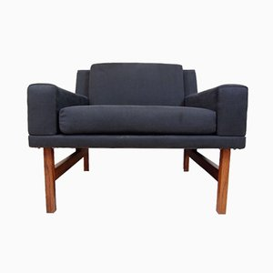 Model 270 Rosewood Lounge Chair by Sven Ellekaer for Henri Rolschau, 1960s