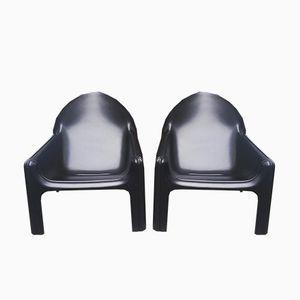 Italienische 4794 Sessel von Gae Aulenti für Kartell, 1974, 2er Set