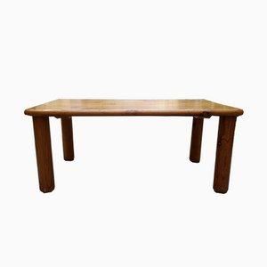 Tavolino da caffè Les Arcs Mid-Century in legno di pino di Charlotte Perriand