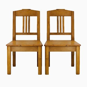 Art Nouveau Children's Chairs, 1910s, Set of 2