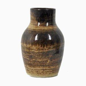 Jarrón de cerámica de Jacques Pouchain para Atelier Dieulefit, años 60