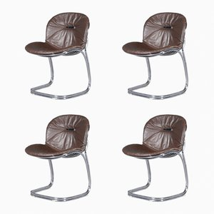 Model Sabrina Chairs by Gastone Rinaldi for Rima, 1970s, Set of 4