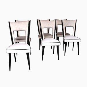 Chaises de Salon Vintage par Pier Luigi Colli, Set de 6