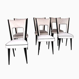 Vintage Dining Chairs by Pier Luigi Colli, Set of 6