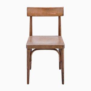 Vintage Holz Stuhl, 1950er