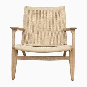 CH25 Lounge Chair by Hans J. Wegner for Carl Hansen, 1960s