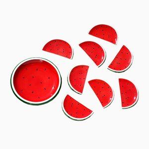 Watermelon Tableware Set from Italica Ars, 1960s