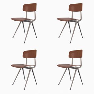 Sedie Result di Friso Kramer per Ahrend de Cirkel, 1967, set di 4