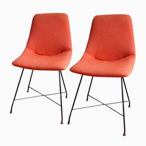 Aster Stühle von Augusto Bozzi für Fratelli Saporiti, 1959, 2er Set