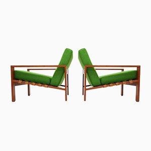 Schwedische Armlehnstühle von Svante Skogh, 1960er, 2er Set