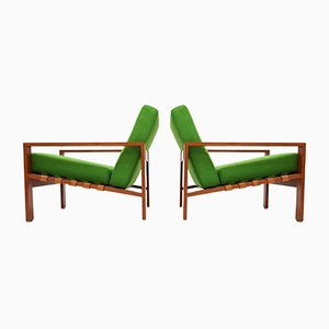 Swedish Armchairs by Svante Skogh, 1960s, Set of 2