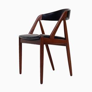 Chaise de Salon Modèle 31 avec Structure en A par Kai Kristiansen pour Schou Andersen, 1960s