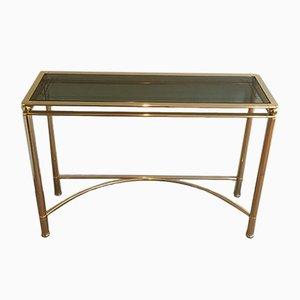 Table Console Dorée, 1970s