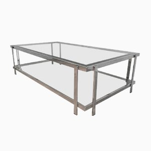 Table Basse Chromée, 1970s