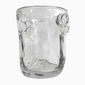 Champañera de cristal, años 70