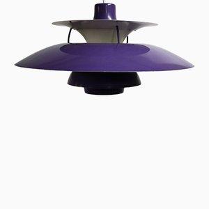 Lámpara de techo PH5 de Louis Poulsen para Poul Henningsen, años 70