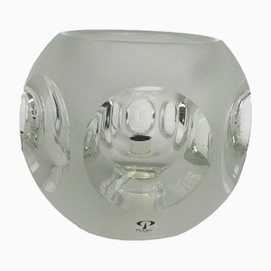 Glass Table Lamp from Peill & Putzler, 1970s