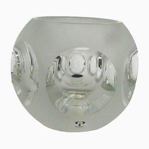 Tischlampe aus Glas von Peill & Putzler, 1970er
