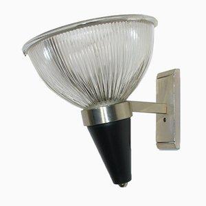 Lámpara de pared italiana, años 50