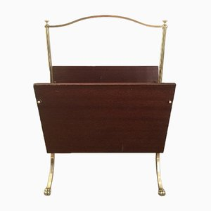 Magazine Rack with Claw Feet from Maison Jansen, 1940s