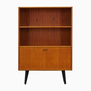 Vintage Teak Veneered Bookcase