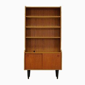Vintage Danish Teak Veneer Bookcase
